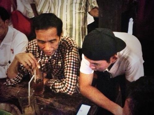Jokowi mau mendengarkan saya berbicara